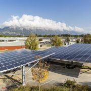 SunPower® Solar Panels Powering Three Solar Carports in Grenoble